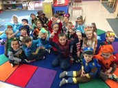 EI Classroom at Carroll Elementary partners with district Pre-K class