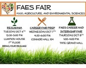 Food, Agricultural, and Environmental Sciences Career Fair