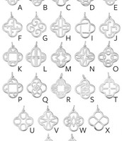 Our New Alphabet Clover Charms – there's one for everyone, from A-Z!