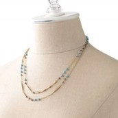 pamela layering necklace - can be worn 2 ways