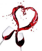 How can red wine help the gut microbiome to prevent heart disease?