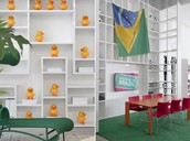 Brilliant Concept of Contemporary Furniture for Brazil FIFA World Cup: Foto Por Manoel Soares FLORENSE Teresina Showroom