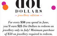 Dot Dollars - learn more about them here!