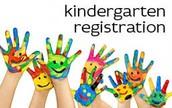 Kindergarten Registration News