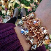 Rose Gold & Sparkle!