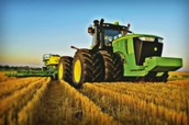 john deere articulated tractor