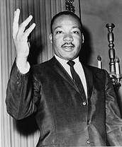 Martin Luther King assissinated (April 4th, 1968)