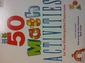 50 Math Activities for Kindergarten