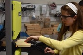 Using the Band Saw in Technology