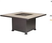 "OW LEE SANTORINI 48"" Chat Table/Fire Pit"