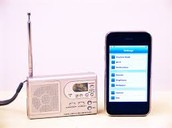 phone also represents radio waves