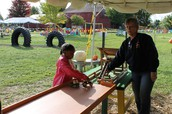 Farm Chores:  Bailing Hay