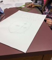 Renaissance Self Portraits by Fourth Grade