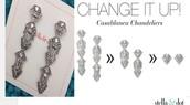Casablanca earrings, orig. $59,  SALE $30