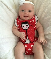 Her First bathing suit!