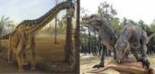 Según su alimentación, existían dos tipos de dinosaurios:
