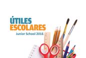 Lista de Útiles Junior School 2016