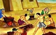 Soldiers Beating Slaves