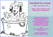 Bathe your dog and help Open Hearts Rescue!