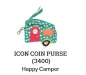 Icon Coin Purse in Happy Camper
