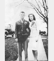 Charles Yeager and glennis Yeager