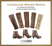 Brown boots and tops