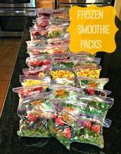 DIY Frozen Smoothie Packs!