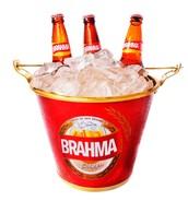 Promoção balde Brahma