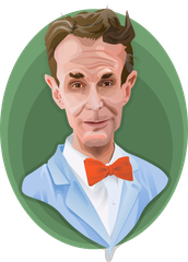 Bill Nye has an edge on science