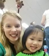 Ms. Ashley & Rachel Wang