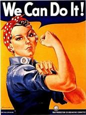 Woman in world war 2