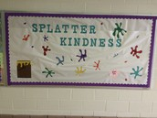 MS. SMITH AND MS. KELLEHER ENCOURAGE OUR VOYAGERS TO BE KIND