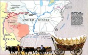 Map of the Santa Fe Trail