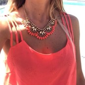 Coral Cay Necklace- $40