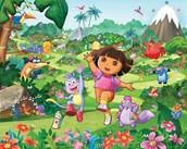 Cuando yo era joven via la Dora.