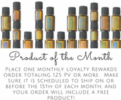 Loyalty Rewards (LRP) and Product of the Month.