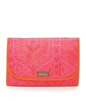 Hang On Travel Case - Pink Orange Medallion ($18)