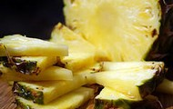 Slices of pineapples