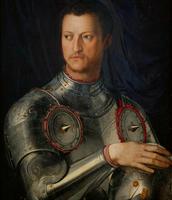 Portrait of Duke Cosimo I de' Medici in Armor