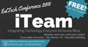 FREE EdTechology Conference April 23rd at Texas State University