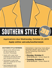 Southern Style Applications Now Available!