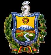 La paz, Bolivia sello nacional