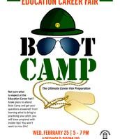 Education Career Fair Boot Camp