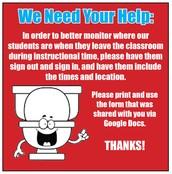 Restroom Restrictions
