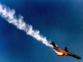 Plane Falling