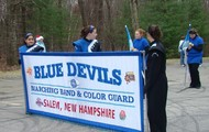 Salem High School Band and Color Guard
