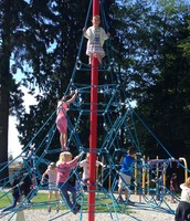 Our Primary Students are Loving the Climbing Frame
