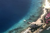 Photo of Bonaire from the sky