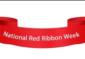 Red Ribbon Week at BSE is October 26th - 30th!