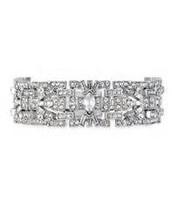 5. Casablanca Bracelet and Deco Drop Earrings
